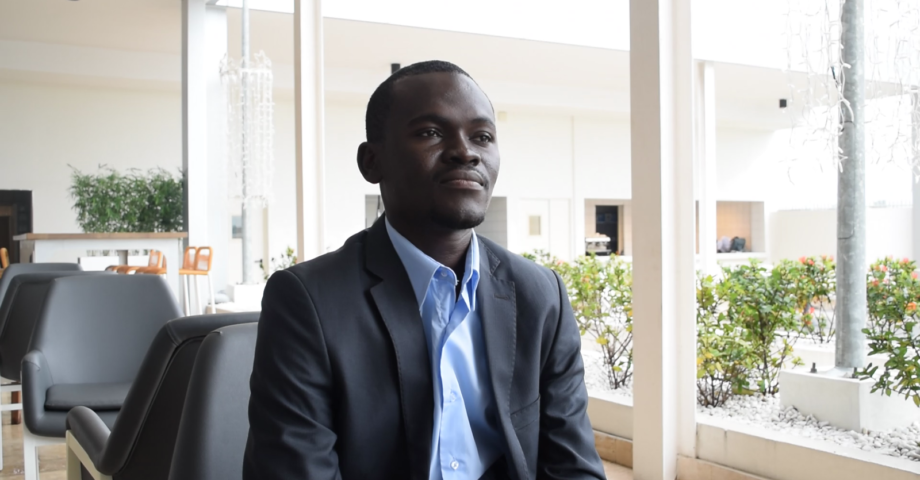 Innocent Raphael Ibrahim Président JA/Coalition OSC/PF - Niger