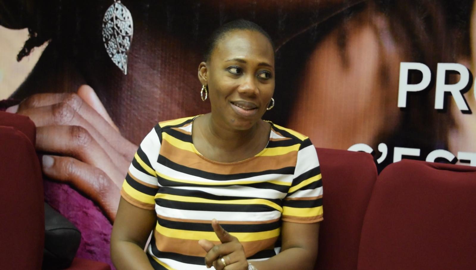 Dr Nathalie YAO N'DRY Présidente Coalition OSC/PF Côte-d'Ivoire